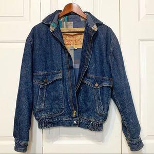 Men's Flannel Lined Levi's Jacket w/ Elastic Waist